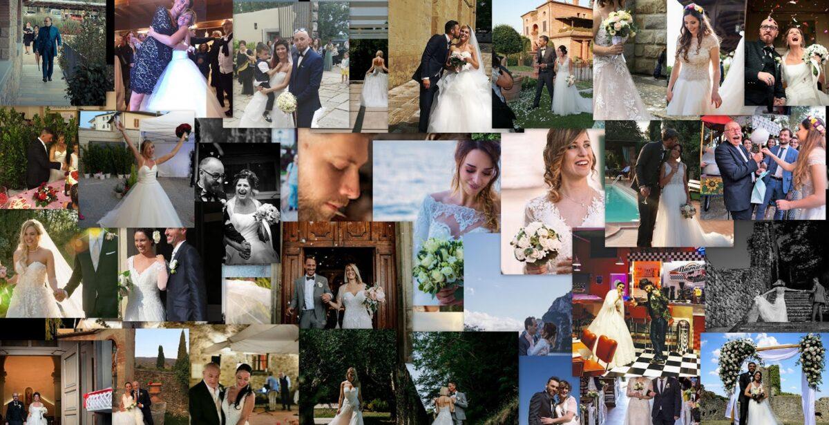 Un sentito ringraziamento a tutti i nostri meravigliosi sposi, che se pur non presenti nel collage, presenti nei nostri cuori